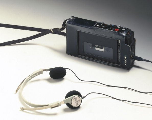 Description: JAPAN - FEBRUARY 02:  The original Walkman, model